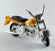 Macheta / jucarie motocicleta metal  7cm #363 foto