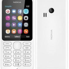 Nokia 222 Dual SIM White - Telefon Nokia