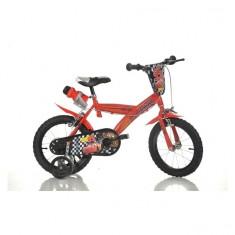 Bicicleta Cars 2 16 inch Dino Bikes - Bicicleta copii