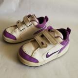 Adidasi copii fetite cu alb si mov NIKE mar.23.5 / 13cm