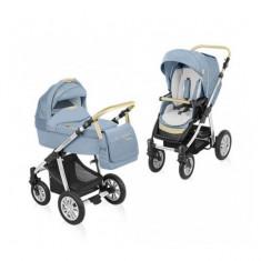 Carucior 2 in 1 Dotty Denim Blue Baby Design - Carucior copii 2 in 1