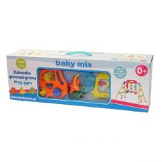 Centru de activitati Baby Play Portocaliu Baby Mix - Tarc de joaca