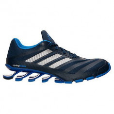 Adidas Springblade Ignite Colleigate Navy Metallic - Marimile 42, 42 2/3 - Adidasi barbati, Culoare: Albastru, Textil