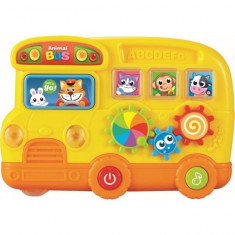 Jucarie muzicala Autobuzul Magic Baby Mix - Jucarie interactiva
