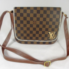Geanta dama maro tip postas LV Louis Vuitton+CADOU, Culoare: Din imagine, Marime: Medie, Geanta stil postas, Asemanator piele