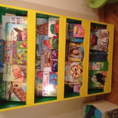 Biblioteca Montessori pentru copii mici - nou - Biblioteca living