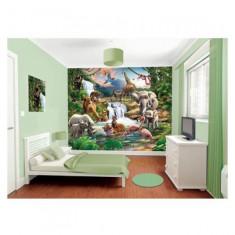 Tapet pentru Copii Jungle Adventure Walltastic