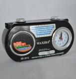 Radio portabil Waxiba XB391C cu ceas quartz