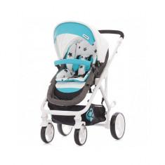 Carucior transformabil Etro Turquoise Chipolino - Carucior copii 2 in 1