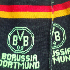 HOPCT GERMANIA FULAR SPORTIV BVB 09 BORUSSIA DORTMUND/YOU LL NEVER WALK ALONE - Fular fotbal, De club