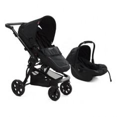 Carucior copii transformabil BabyGo Black MyKids - Carucior copii 3 in 1