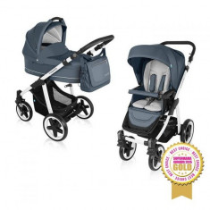 Carucior multifunctional 2 in 1 Lupo Comfort Graphite Baby Design - Carucior copii 2 in 1 Baby Design, Verde
