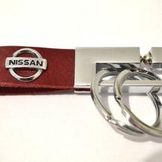Breloc NISSAN piele model deosebit - Breloc Auto
