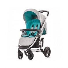 Carucior 2 in 1 Avenue Turquoise Chipolino - Carucior copii 2 in 1