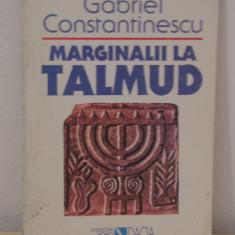 Gabriel Constantinescu-Marginalii la Talmud