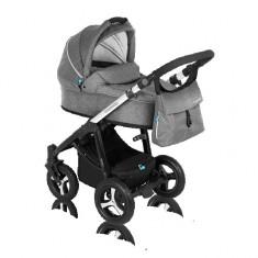 Carucior 3 in 1 Husky Titan Baby Design - Carucior copii 3 in 1