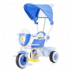 Tricicleta cu copertina Spring Blue Chipolino - Tricicleta copii