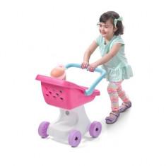 Carucior copii pentru papusi Step 2 - Carucior papusi Step 2, Plastic, Multicolor