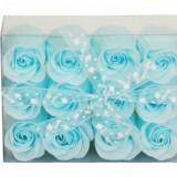 Set trandafiri de sapun 12 buc. - Dozator sapun