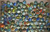 Lot bile de sticla ornamentale sau pentru sah chinezesc