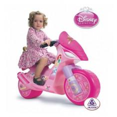 Motocicleta electrica Disney Princess 6V Injusa - Masinuta electrica copii Injusa, Roz