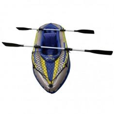 Barca gonflabila Canoe Challenger 2 cu pompa si vasle Intex 68306 - Barca pneumatice