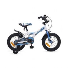 Bicicleta copii 14 inch Rapid Albastru Byox