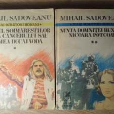 Neamul Soimarestilor Zodia Cancerului Sau Vremea Ducai Voda V - M. Sadoveanu, 386341 - Roman, Anul publicarii: 1980