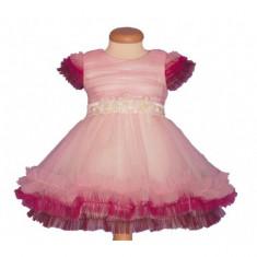 Rochita botez Pink Delight 3-4 ani Atelier Bebe