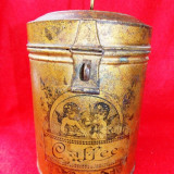 Caffee - cutie veche cu reclama - perioada interbelica