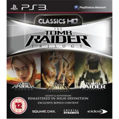 Tomb Raider Trilogy Ps3 - Jocuri PS3 Eidos
