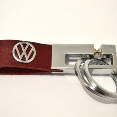 Breloc VW piele model deosebit - Breloc Auto Volkswagen