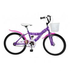 Bicicleta 20 inch Violeta Toimsa - Bicicleta copii