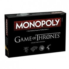Joc Game Of Thrones Deluxe Monopoly Board Game Hasbro
