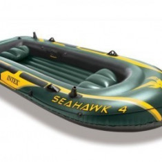 Barca gonflabila pentru 4 persoane Seahawk IV Intex 68350 - Barca pneumatice