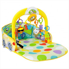 Centru de activitati masinuta decapotabila Fisher Price - Tarc de joaca Fisher Price, Multicolor
