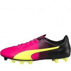 Ghete Fotbal Originale Puma Mens evoSPEED 5.5 FG Tricks Football Boots Glow, Marime: 40, 40.5, 41, 42.5, Culoare: Din imagine, Barbati, Iarba: 1