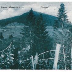 2917 - Bucovina, TIHUTA PASS - old postcard, CENSOR - used - 1916 - Carte Postala Bucovina 1904-1918, Circulata, Printata