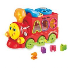 Jucarie educativa Trenuletul Magic Baby Mix - Jucarie interactiva