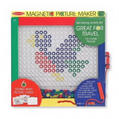 Mozaic magnetic Melissa & Doug - Jocuri arta si creatie