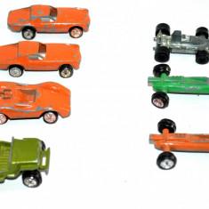 Lot 7 machete, machete, masinute curse, jeep Hong Kong - Macheta auto, 1:87