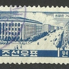 KOREA-NORD -1960- - Timbre straine, Stampilat