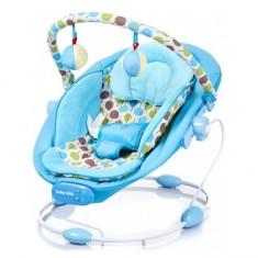 Leagan muzical cu vibratii Grand Confort Albastru Baby Mix - Balansoar interior