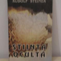 STIINTA OCULTA -RUDOLF STEINER - Carte Hobby Paranormal