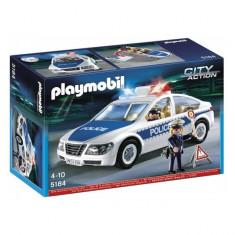 Masina de politie cu lumini City Action Playmobil - Masinuta