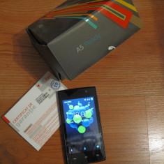 Telefon SmartPhone Android Allview A5 ready dual sim Garantie - Telefon Allview, Negru, 8GB, Neblocat, Quad core