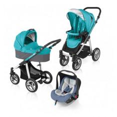 Carucior multifunctional 3 in 1 Lupo Turquoise Baby Design - Carucior copii 3 in 1