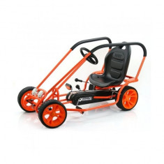Go Kart Thunder II Orange Hauck - Kart cu pedale