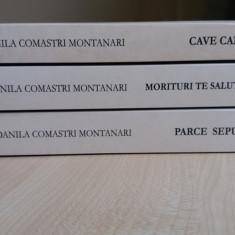 Danila Comastri Montanari – Publius Aurelius vol I, II si III - Roman istoric