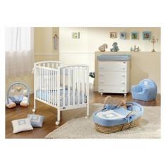 Pat lemn City White Pali - Patut lemn pentru bebelusi